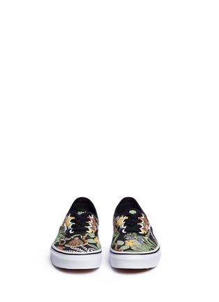 Figure View - Click To Enlarge - Vans - x Disney 'Authentic' The Jungle Book print canvas kids sneakers