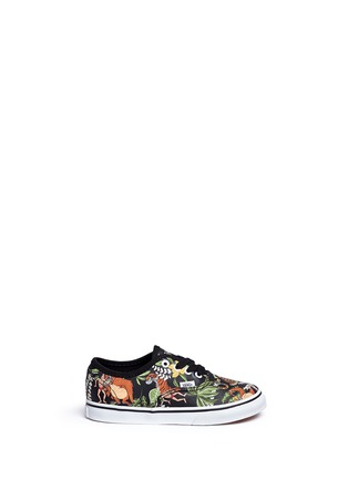 Main View - Click To Enlarge - Vans - x Disney 'Authentic' The Jungle Book print canvas toddler sneakers