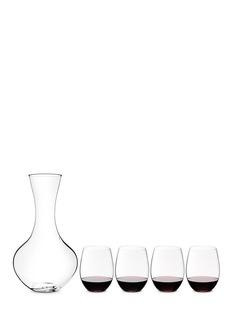 RiedelO + Gift tumbler and decanter set