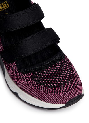 Detail View - Click To Enlarge - Ash - 'Lulu' strap mix knit sneakers
