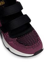 'Lulu' strap mix knit sneakers