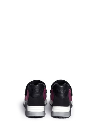 Back View - Click To Enlarge - Ash - 'Lulu' strap mix knit sneakers