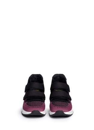 Figure View - Click To Enlarge - Ash - 'Lulu' strap mix knit sneakers