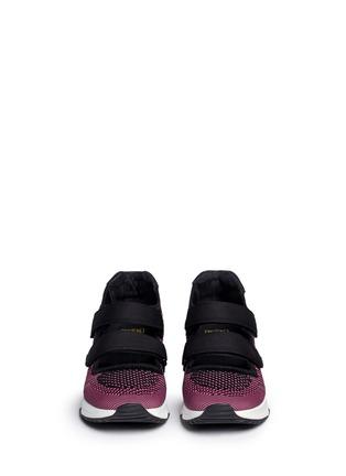 Ash-'Lulu' strap mix knit sneakers