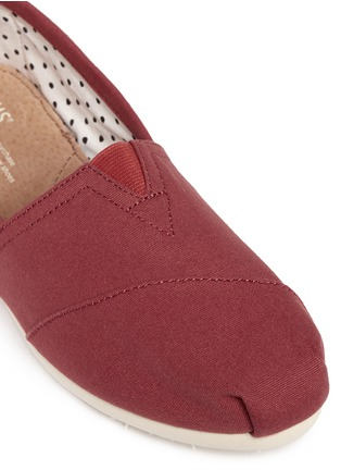 Detail View - Click To Enlarge -  - Classic canvas slip-ons