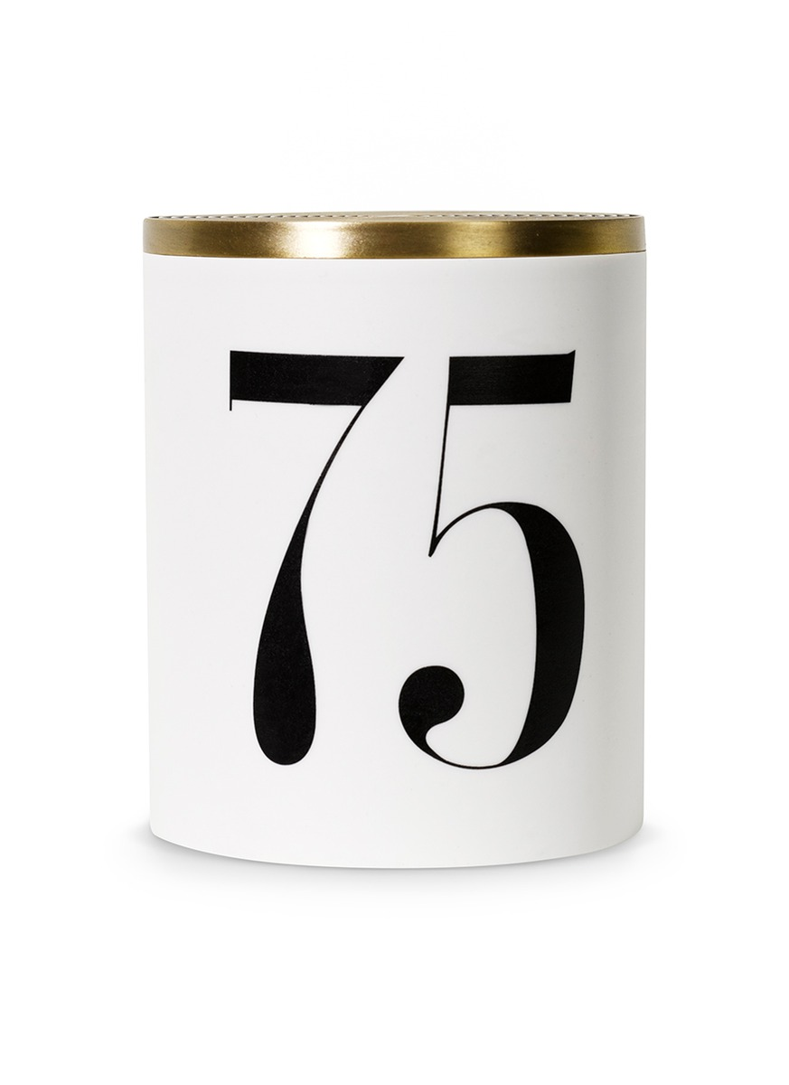 No. 75 scented candle 350g by L'Objet