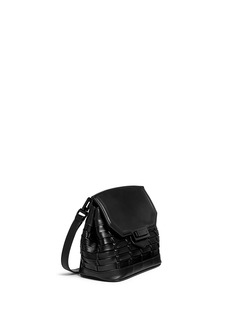 ALEXANDER WANG 'Marion' woven leather crossbody bag