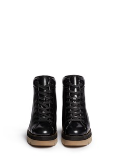 ALEXANDER WANG 'Genevieve' platform boots