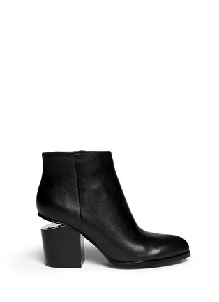 Alexander Wang  - 'Gabi' cutout heel leather boots