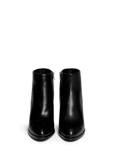 ALEXANDER WANG 'Gabi' cutout heel leather boots