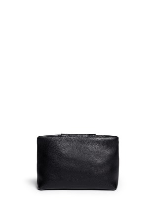 背面 - 点击放大 - ALEXANDER WANG  - 'Dumbo' pebbled leather zip pouch