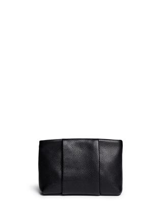 首图 - 点击放大 - ALEXANDER WANG  - 'Dumbo' pebbled leather zip pouch