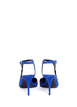 Back View - Click To Enlarge - Alexander Wang  - 'Stefania' suede ankle strap pumps