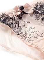 'Dani' peony lace tulle mini briefs
