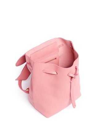 Detail View - Click To Enlarge - Mansur Gavriel - Mini tumbled leather backpack