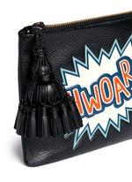 'Georgiana Phwoar!!' capra leather clutch