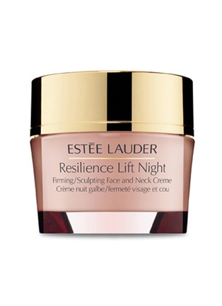 Main View - Click To Enlarge - Estēe Lauder - Resilience Lift Night - Firming/Sculpting Face and Neck Crème 50ml