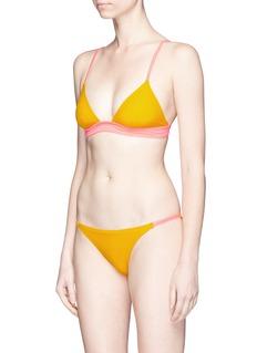 Solid & Striped'Morgan' colourblock bikini bottoms