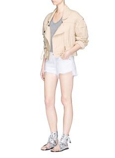 Isabel Marant'Backal' drawstring waist quilted cotton jacket