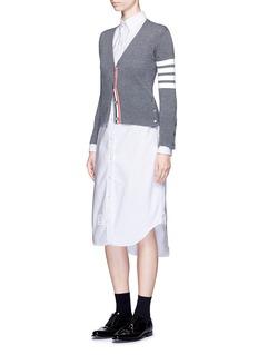 Thom BrowneCotton Oxford shirt dress