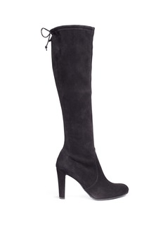 Stuart Weitzman 'Keenland' stretch suede knee high boots
