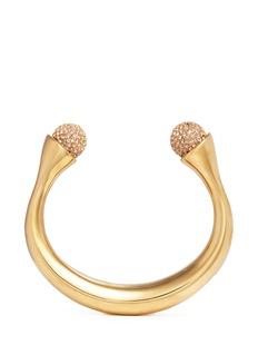 Chloé'Darcey' Swarovski crystal pavé brass cuff