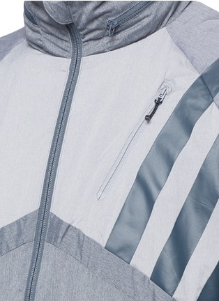 Adidas By White Mountaineering - Patchwork windbreaker jacket