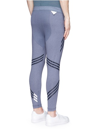 Back View - Click To Enlarge - Adidas By White Mountaineering - Patchwork tights