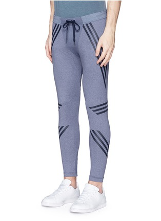 Front View - Click To Enlarge - Adidas By White Mountaineering - Patchwork tights