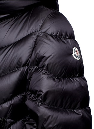 Detail View - Click To Enlarge - Moncler - 'Akylina' padded down cape jacket