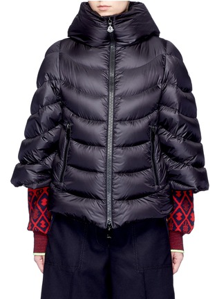 Main View - Click To Enlarge - Moncler - 'Akylina' padded down cape jacket