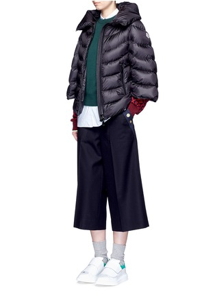 Figure View - Click To Enlarge - Moncler - 'Akylina' padded down cape jacket