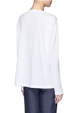 Back View - Click To Enlarge - Acne Studios - 'Denya' cotton sweatshirt