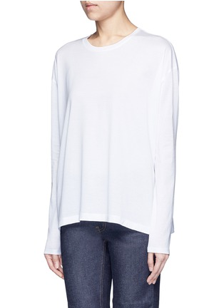 Front View - Click To Enlarge - Acne Studios - 'Denya' cotton sweatshirt