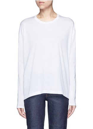 Main View - Click To Enlarge - Acne Studios - 'Denya' cotton sweatshirt
