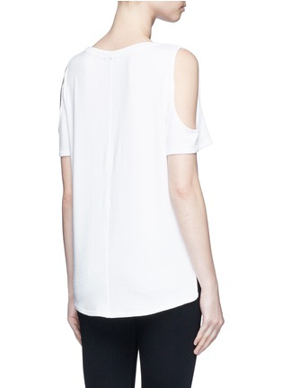 rag & bone/JEAN - 'Showoff' cutout shoulder T-shirt