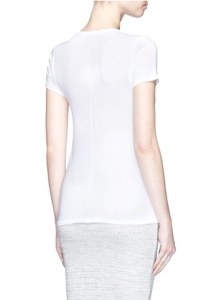 Back View - Click To Enlarge - rag & bone/JEAN - 'Base' crew neck T-shirt