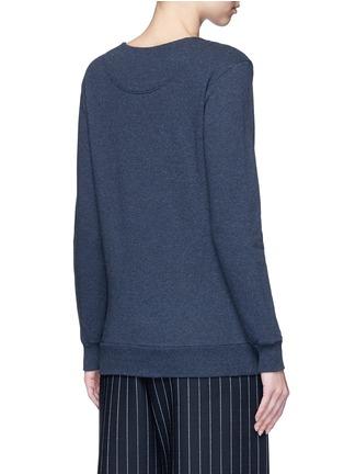 背面 - 点击放大 - STELLA MCCARTNEY - FALABELLA链条装饰纯棉卫衣