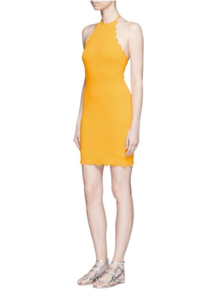 Figure View - Click To Enlarge - Marysia - 'Mott' scalloped halterneck dress