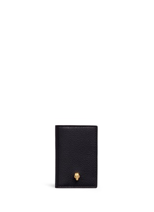 Main View - Click To Enlarge - Alexander McQueen - Skull leather pocket organiser