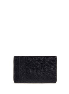 Alexander McQueen Lion skull print leather card holder
