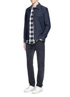 RE/DONE Straight leg slim fit jeans