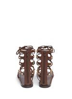 'Rockstud Rolling' cabochon leather gladiator sandals