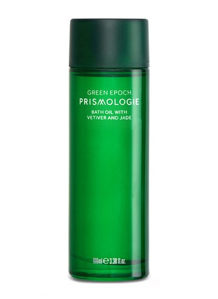 Main View - Click To Enlarge - Prismologie - Green Epoch Jade & Vetiver Bath Oil 100ml