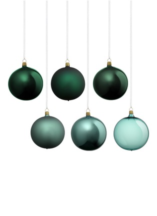 Main View - Click To Enlarge - OBERFRANSCHE - Assorted Christmas ornament set