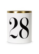 No. 28 scented candle