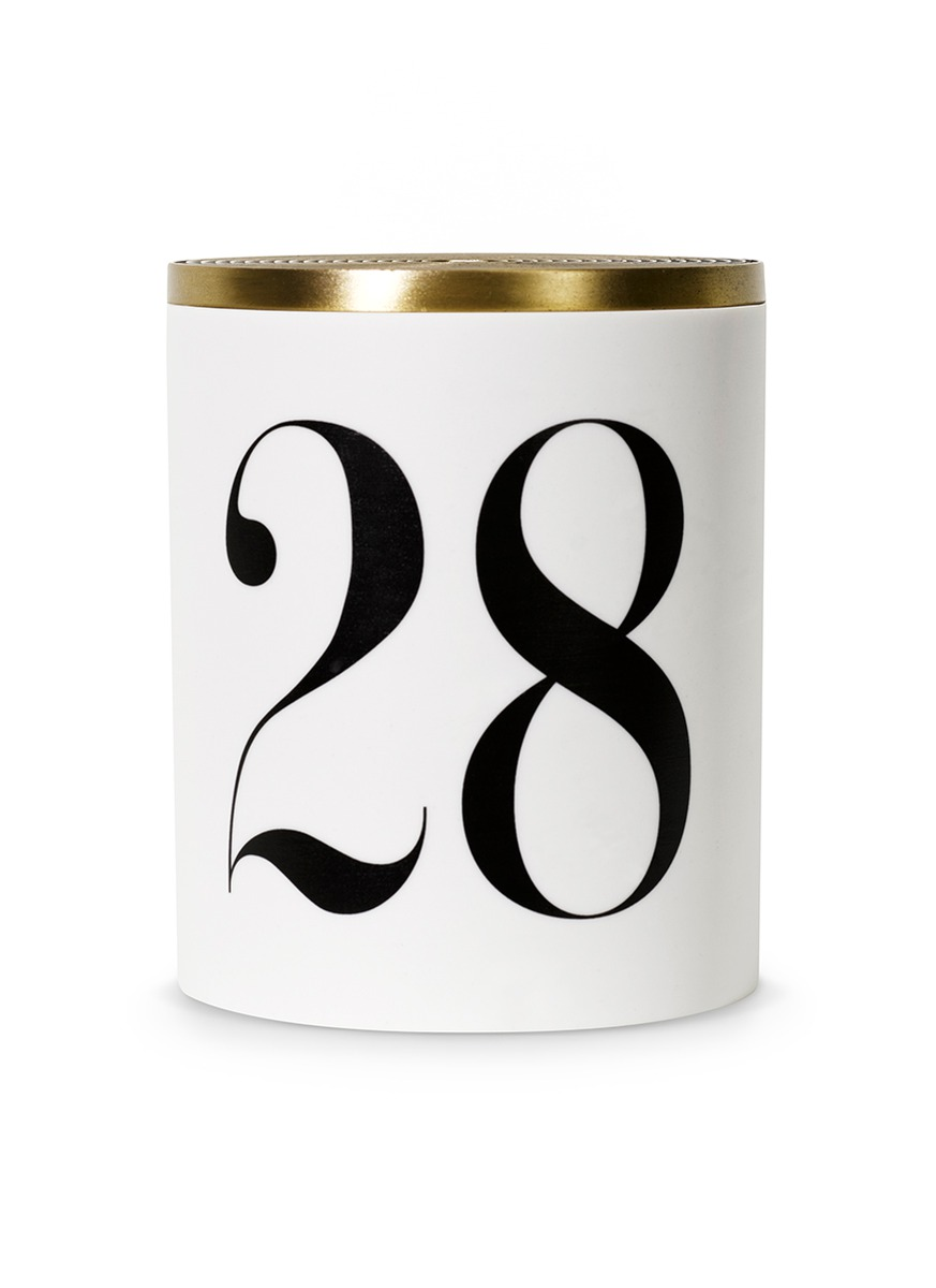 No. 28 scented candle 350g by L'Objet