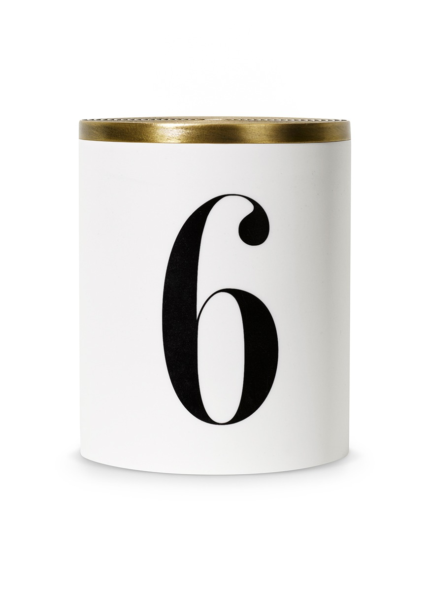 No. 6 scented candle 350g by L'Objet