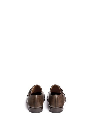 背面 - 点击放大 - MAGNANNI - MATOGRO真皮僧侣鞋