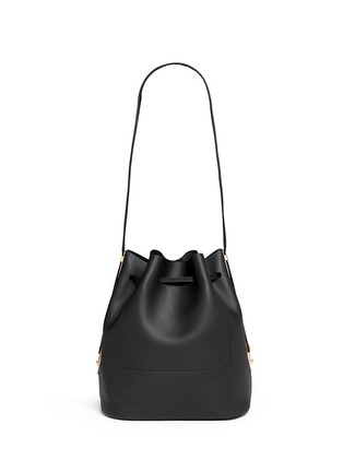 Back View - Click To Enlarge - Sophie Hulme - 'Gibson' leather bucket bag